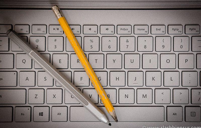 Une année avec la Surface Book