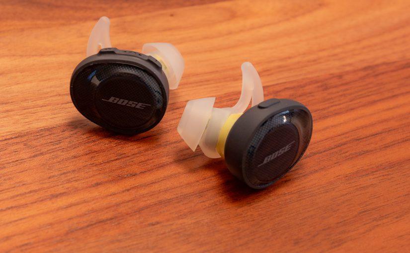 Avis sur les écouteurs bluetooth Bose SoundSport Free
